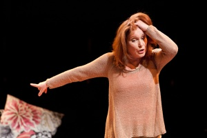 Jan Ravens as Olivia Fairfax in 5 @ 50 by Brad Fraser.  Photo: Jonathan Keenan