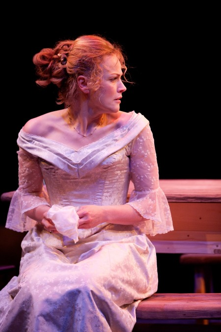 Maxine Peake as Miss Julie in MISS JULIE (Royal Exchange Theatre until 12 May).  Photo - Jonathan Keenan.