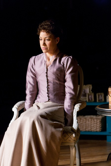 Cush Jumbo as Nora Helmer in A DOLL'S HOUSE by Henrik Ibsen (Royal Exchange Theatre 1 May - 1 June 2013) Photo - Jonathan Keenan.